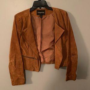 Brown jacket Suede